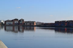 Preston Docks Royalty Free Stock Images