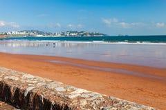 Preston Sands Beach Devon England Royalty Free Stock Image