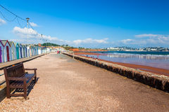 Preston Sands Beach Devon England Stock Photography
