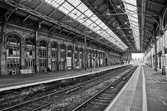 Preston Train Station Stock Photo