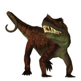 Prestosuchus on White Stock Image