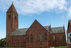 St Nicholas Parish Church Prestwick Ayrshire Scotland. stock images