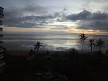 Presunrise на пляже sanur Стоковое Изображение RF
