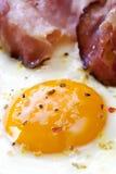 Presunto e ovos imagens de stock