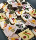 Presunto e queijo Fotografia de Stock