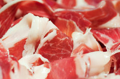 Presunto espanhol de Tipical, iberico do jamon Foto de Stock Royalty Free