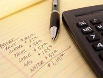 Presupuesto imagenes de archivo