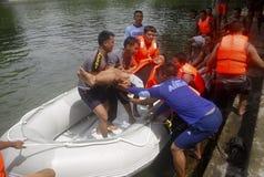 PRESUPUESTO DE LA GESTIÓN DE DESASTRES DE INDONESIA Fotografía de archivo libre de regalías