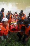 PRESUPUESTO DE LA GESTIÓN DE DESASTRES DE INDONESIA Foto de archivo libre de regalías