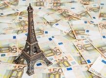 Presupuesto de viaje a Europa Imagenes de archivo