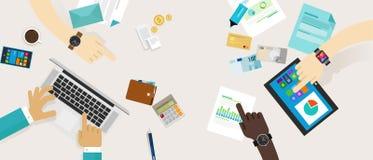 Presupuesto familiar del plan financiero de las finanzas personales Foto de archivo libre de regalías