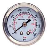 Presure gauge instrument Royalty Free Stock Photos
