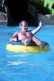 Pret in aquapark Royalty-vrije Stock Fotografie