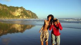 Pret bij het strand Royalty-vrije Stock Foto