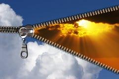 Pret cloudscape royalty-vrije stock afbeeldingen