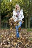 Pret in de herfst royalty-vrije stock afbeeldingen