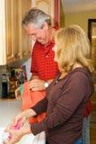 Pret in de Keuken stock afbeelding