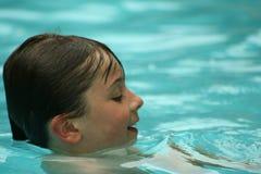 Pret in de pool Royalty-vrije Stock Foto's