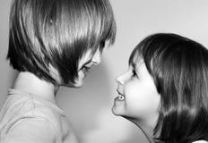 Pret en ire van kinderen stock foto