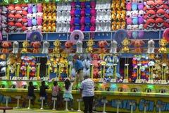 Pret en Spelen bij de Markt van de Provincie van Los Angeles Royalty-vrije Stock Foto's