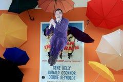 Pret en vrolijke vertoning van Gene Kelly Royalty-vrije Stock Fotografie