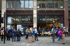 Pret A Manger London Royalty Free Stock Photo