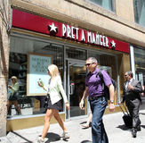 PRET A MANGER Royalty Free Stock Images