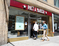 PRET A MANGER Stock Photos