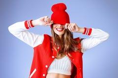 Pret met hoed Royalty-vrije Stock Foto's