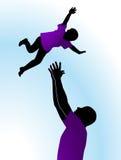 Pret met kinderen Royalty-vrije Illustratie