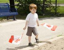 Pret met vlaggen Stock Afbeeldingen