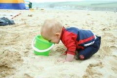 Pret op het strand Royalty-vrije Stock Afbeelding