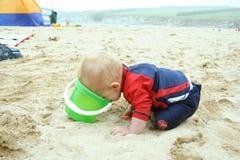 Pret op het strand Stock Fotografie