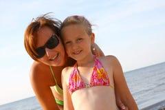Pret op het strand Royalty-vrije Stock Foto
