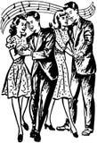 Pret in Prom vector illustratie