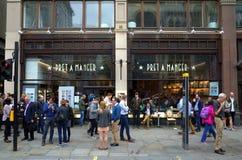Pret um comedoiro Londres Foto de Stock Royalty Free