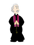 Prete cattolico Fotografia Stock