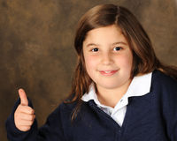 Preteen Approval Stock Photo
