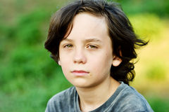Preteen boy Royalty Free Stock Photo