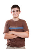 Preteen boy portrait Stock Image