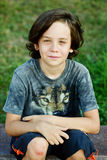 Preteen chłopiec Fotografia Royalty Free