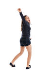 Preteen dancing girl Stock Images