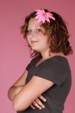 Preteen girl Royalty Free Stock Photos