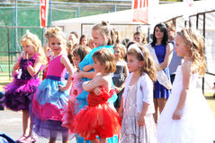 Preteen Girl Beauty Pageant at Festival South Africa Royalty Free Stock Images
