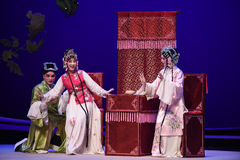 "Pretending to hide-Kunqu Opera ""the West Chamber"" Royalty Free Stock Photography"