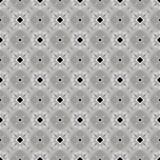 Preto, branco e Gray Abstract Seamless Pattern Illustration Fotografia de Stock