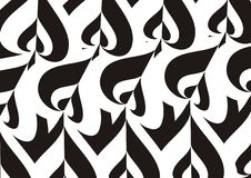 Preto e branco Imagens de Stock Royalty Free