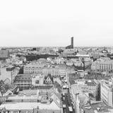 'Preto e branco aw de WrocÅ Imagens de Stock