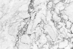 Preto e branco & x28 de mármore naturais abstratos de mármore; gray& x29; para o projeto Foto de Stock Royalty Free
