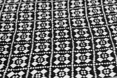 Preto e branco tecido bambu imagem de stock royalty free